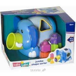 Игрушку для младенцев BABYBABY Слоненок-сортер (2564)