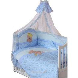 Детскую постель Золотой гусь Комплект в кроватку Мишка царь (8 предметов)