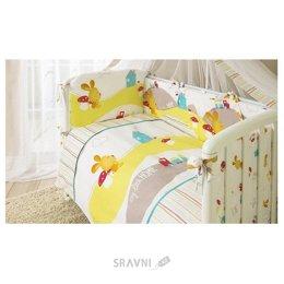 Детскую постель Perina Комплект в кроватку Кроха (4 предмета)