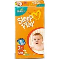 Подгузник Pampers Sleep&Play Midi 3 (58 шт.)