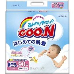 Подгузник Goo.N Newborn XS 0-5 кг (90 шт.)
