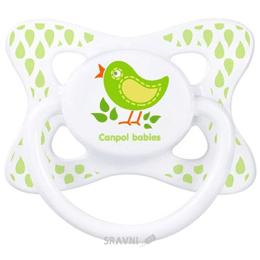Товар для кормления детей Canpol Babies Пустышка Каникулы, силиконовая симметричная, 6-18 мес. (23/461)