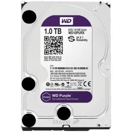 Жесткий диск, SSD-Накопитель Western Digital Purple 1TB (WD10PURZ)