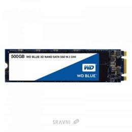 Жесткий диск, SSD-Накопитель Western Digital SSD Blue M.2 500GB (WDS500G2B0B)