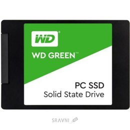 Жесткий диск, SSD-Накопитель Western Digital SSD Green 120GB (WDS120G2G0A)