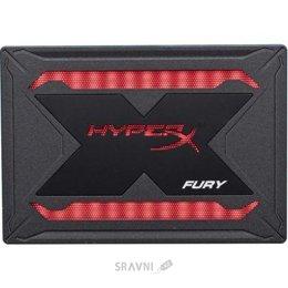 Жесткий диск, SSD-Накопитель Kingston HyperX Fury RGB 2.5 960 GB (SHFR200/960G)