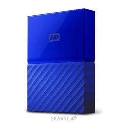 Жесткий диск, SSD-Накопитель Western Digital My Passport 2TB Blue (WDBLHR0020BBL)