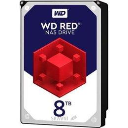 Жесткий диск, SSD-Накопитель Western Digital Red 8TB (WD80EFAX)