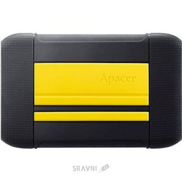 Жесткий диск, SSD-Накопитель Apacer AC633 1 TB Energetic Yellow X Tough Black (AP1TBAC633Y-1)