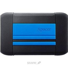 Жесткий диск, SSD-Накопитель Apacer AC633 1TB Speedy Blue X Tough Black (AP1TBAC633U-1)