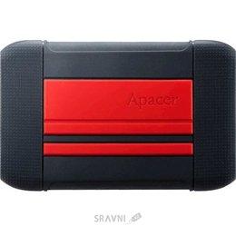 Жесткий диск, SSD-Накопитель Apacer AC633 2TB Power Red X Tough Black (AP2TBAC633R-1)