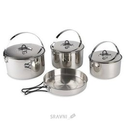 Туристическую посуду Tatonka Набор посуды Family Cook Set L
