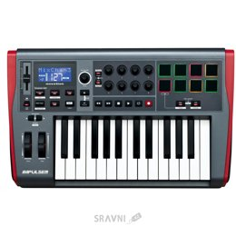 Midi клавиатуру Novation Impulse 25