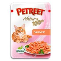 корм для кошек  Petreet Natura Пауч Лосось 85 г