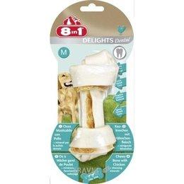 корм для собак 8in1 Dental Delights Bone M