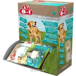 корм для собак 8in1 Dental Delights Bone XS