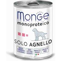 Monge Monoproteico Solo Паштет из ягненка 400 г