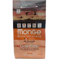 Monge Grain Free утка с картофелем 12 кг