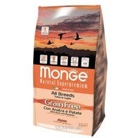 Monge Grain Free утка с картофелем 2,5 кг