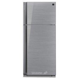 Холодильник и морозильник Sharp SJ-XP59PGSL