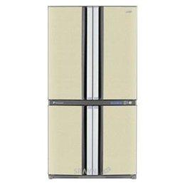 Холодильник и морозильник Sharp SJ-F78PEBE