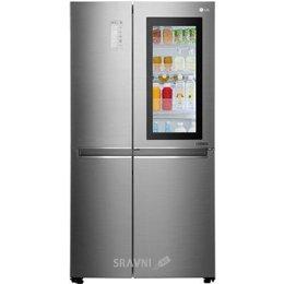 Холодильник и морозильник LG GC-Q247CABV