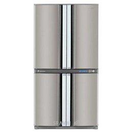 Холодильник и морозильник Sharp SJ-F90PSSL