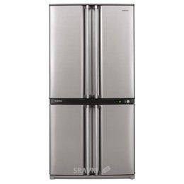 Холодильник и морозильник Sharp SJ-F740STSL