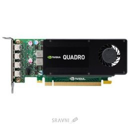 Видеокарту PNY Quadro K1200 for DVI 4Gb GDDR5 (VCQK1200DVI-PB)