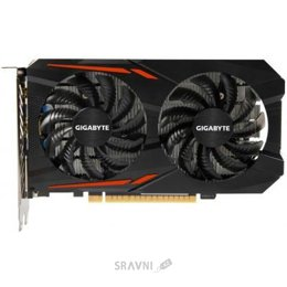 Видеокарту Gigabyte GeForce GTX 1050 Ti OC 4Gb (GV-N105TOC-4GD)