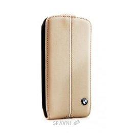 Чехол для мобильного телефона BMW Samsung Galaxy S4 i9500/i9505 бежевый (BMFLS4LC)