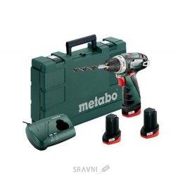 Дрель, шуруповерт, гайковерт Metabo PowerMaxx BS Basic Set (600080960)