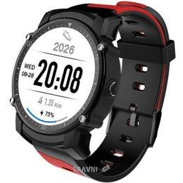 Умные часы, браслет спортивный KingWear FS08 (Red)