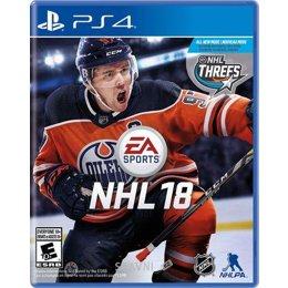 Игру для приставок NHL 18 (PS4)