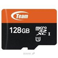Карту памяти, USB Flash TEAM TUSDX128GUHS03