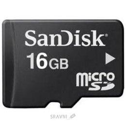 Карту памяти, USB Flash SanDisk microSDHC 16Gb
