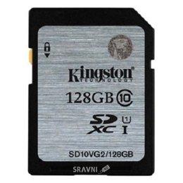 Flash Память (флешку, карту Памяти, SD, MiniSD, MiсroSD) Kingston SD10VG2/128GB