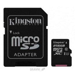 Flash Память (флешку, карту Памяти, SD, MiniSD, MiсroSD) Kingston SDCS/256GB