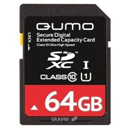 Фото Qumo SDXC Class 10 64Gb