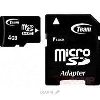 Карту памяти, USB Flash TEAM TUSDH4GCL1003