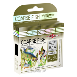 Леску, шнур для рыбалки Mikado Sensei Coarse Fish (0.20mm 150m 5.80kg)