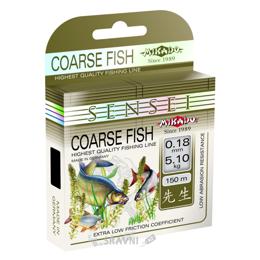 Леску, шнур для рыбалки Mikado Sensei Coarse Fish (0.24mm 150m 7.60kg)
