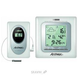 Метеостанцию, термометр, барометр Atomic W739009