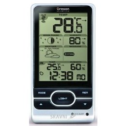 Метеостанцию, термометр, барометр Oregon Scientific BAR208HG