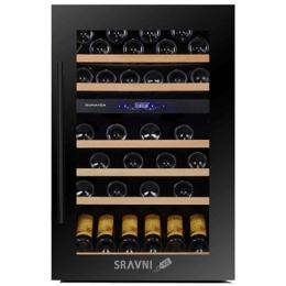 Винный и витринный холодильник Dunavox DX-57.146DBK