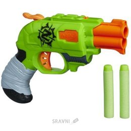 Игрушечное оружие Hasbro Бластер Зомби Страйк Двойной Удар (A6562)